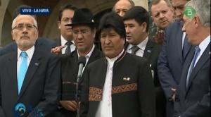 El fallo de La Haya cayó con la fuerza de un terremoto en Bolivia