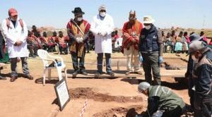 Recuperan objetos prehispánicos en el centro ceremonial de Kalasasaya 1