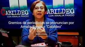 """Patzi dice que Amalia Pando incurrió """"en apología de una candidatura en un medio estatal"""""""
