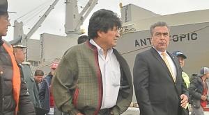 Bolivia recibe 13 mil toneladas de carga en Ilo y prepara importaciones de otras 20.000