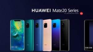 Huawei lanza la serie Mate 20, más rápido, más potente y más inteligente