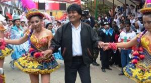 El presidente Morales viaja a la Argentina para ver entrada folclórica 1