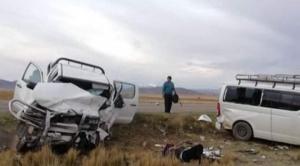 Mueren tres personas y otras cinco quedan heridas tras colisión en carretera a Desaguadero