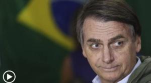 "Bolsonaro promete ""cambiar destino de Brasil"""