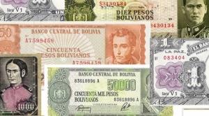 """Cambios de billetes en Bolivia, de la hiperinflación al """"narcisismo político"""""""