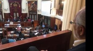 Mesa asiste al Legislativo por caso Lava Jato y García Linera le dice que busca protagonismo 1
