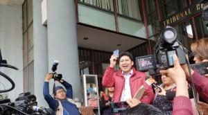 Jhiery Fernández recupera su libertad irrestricta después de cuatro años