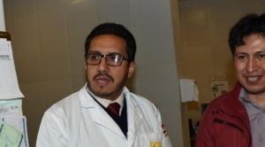 El médico Jhiery Fernández empezó a trabajar en el hospital Cotahuma