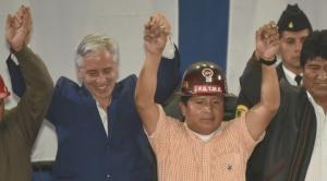 García Linera retrocede y se repostulará con Morales; el MAS oficializa al primer binomio