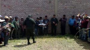 Dos jóvenes fueron linchados en Uncía