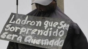 Cultura de la muerte: se registraron 22 linchamientos en cinco años en Bolivia
