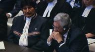 Morales es considerado como el mayor culpable de la derrota de La Haya