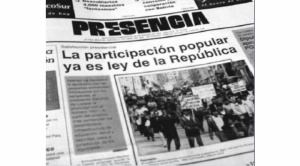 Breve historia de la participación popular