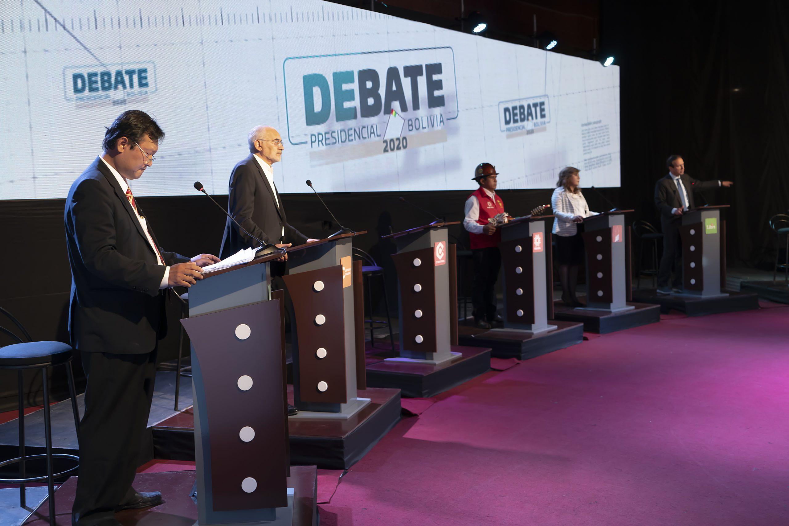 Organizadores estiman que cinco millones de personas vieron o escucharon el debate presidencial | Brújula Digital