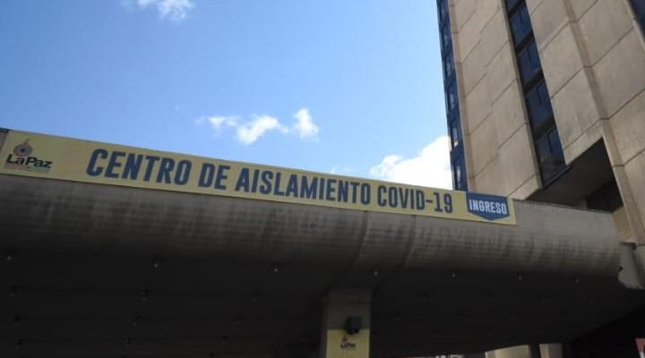 Cierran en octubre Centro de Aislamiento COVID de La Paz que albergó a más de 1.000 pacientes
