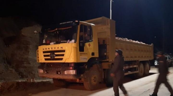 Reportan que una volqueta con capacidad de 31 toneladas sacó carga ilegal del Cerro Rico de Potosí