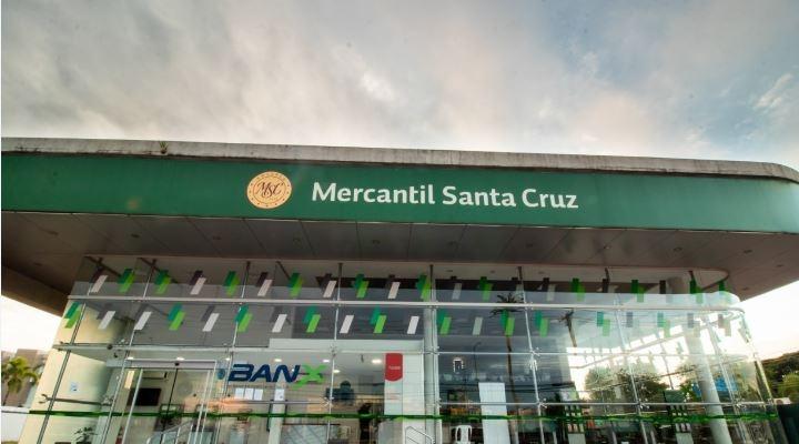 En la cuarentena, el Mercantil Santa Cruz registró 30 millones de transacciones, el 93% vía digital