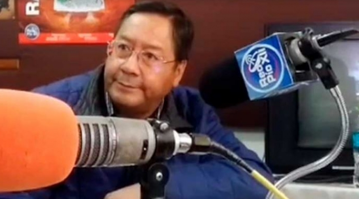 """Arce cree que hay """"acciones desesperadas"""" para anular la sigla del MAS"""