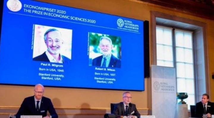 Nobel de Economía: Paul R. Milgrom y Robert B. Wilson obtienen el galardón por sus estudios sobre las subastas