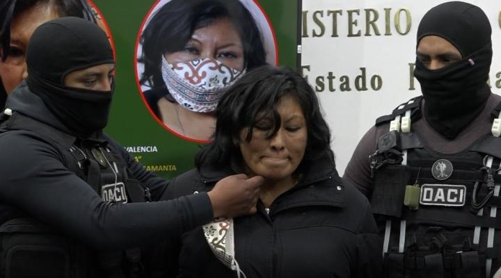 Caso Samantha: Fiscalía imputa a la raptora por trata y a sus dos hijos por complicidad