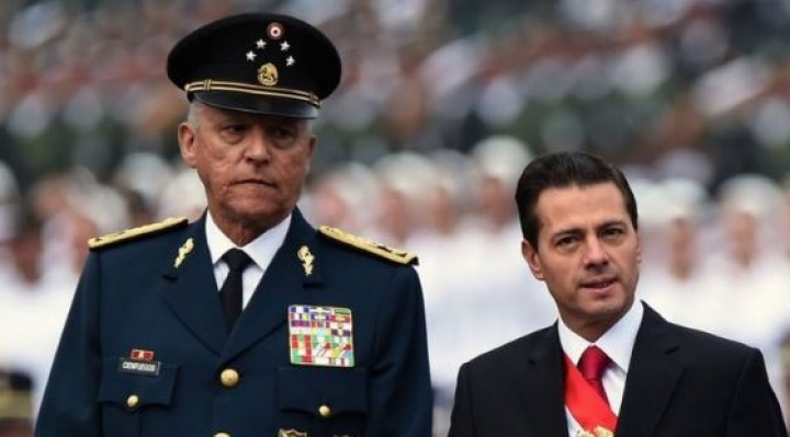 Salvador Cienfuegos: quién es el general mexicano acusado de 4 cargos de narcotráfico en EEUU