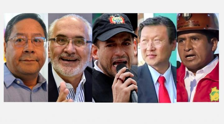 Conozca a los candidatos que pugnan por la silla presidencial