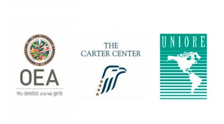 OEA, Uniore y Centro Carter respaldan decisión del TSE que prioriza cómputo oficial