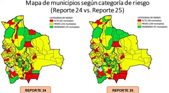 Municipios con riesgo alto de contagio de COVID-19 disminuyen por cuarta vez consecutiva, llegan a 58