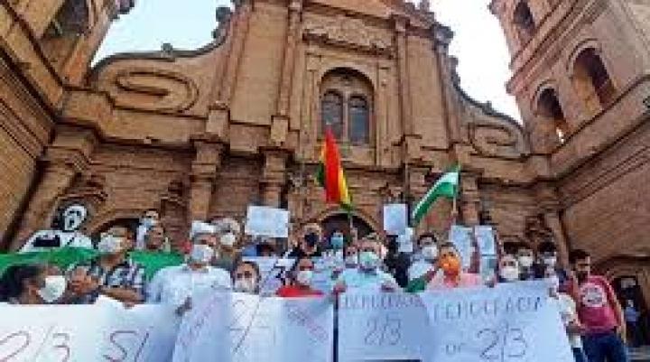 Bancada de CC no asistirá a la posesión de Arce; protagonizará una marcha en las calles paceñas