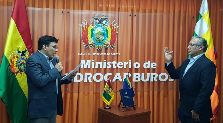 Wilson Zelaya asume el mando de YPFB