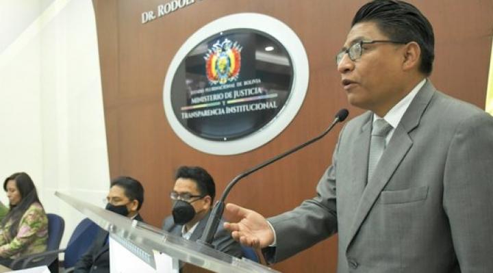 """Ministro de Justicia conmina al Consejo de la Magistratura a trabajar si no quiere ser """"suprimido"""""""