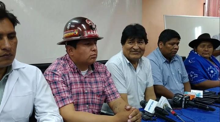 Subnacionales: Morales pide combinar experiencia en gestión pública con nuevas generaciones