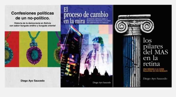 Diego Ayo disecta a la democracia boliviana y al gobierno de Morales en tres textos de lectura obligada