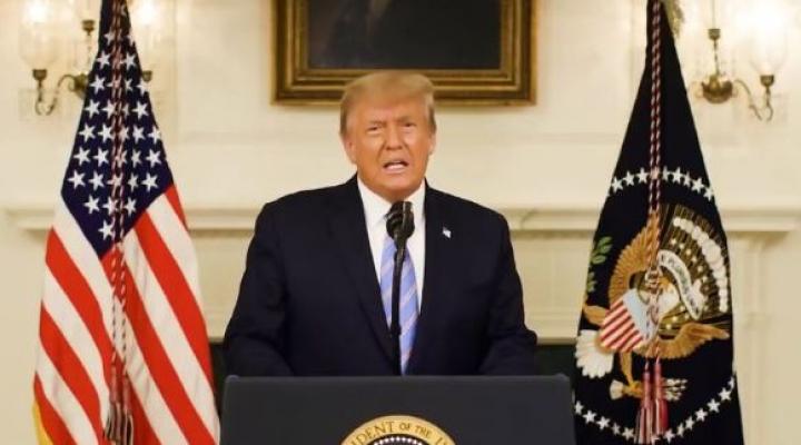 Trump anunció que no asistirá a la ceremonia de traspaso de mando a Joe Biden el 20 de enero
