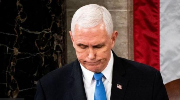 Asalto al Capitolio: la difícil posición en la que está el vicepresidente Mike Pence ante Donald Trump