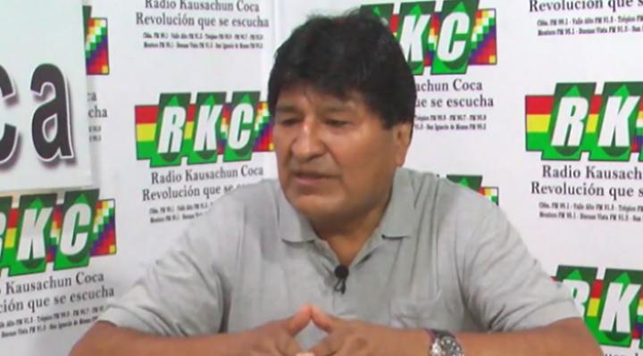 Confirman que Morales tiene Covid-19 luego de que él mismo negara que estaba enfermo