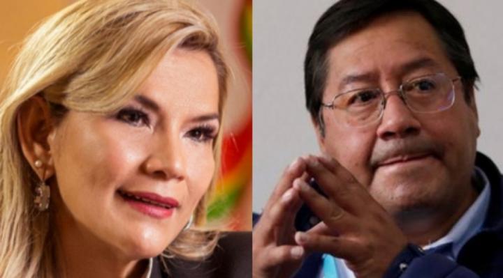 """Jeanine Añez a Luis Arce: los contagios de coronavirus se reducen con trabajo y """"no con odio"""""""