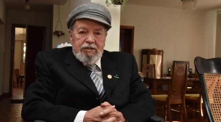 Falleció el pintor y muralista Gil Imaná a los 88 años