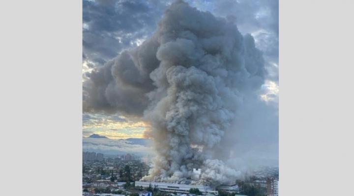 Chile: controlan incendio en un hospital de Santiago