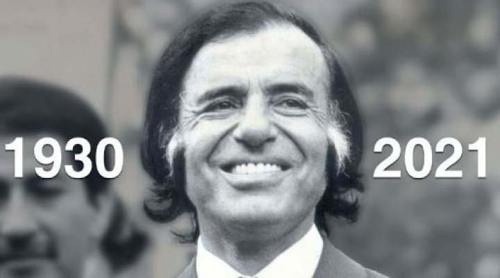 Falleció Carlos Saúl Menem, expresidente de Argentina