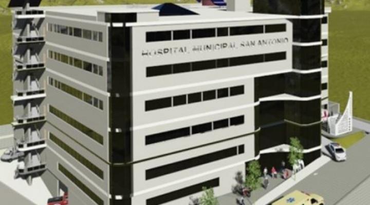 Revilla firma contrato para la construcción del hospital San Antonio