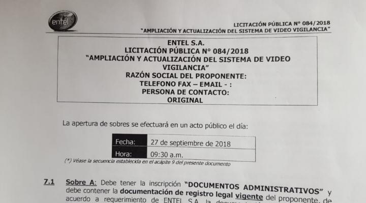 Licitación de ENTEL para contratar empresa de seguridad no exige a las firmas ser legalmente reconocidas