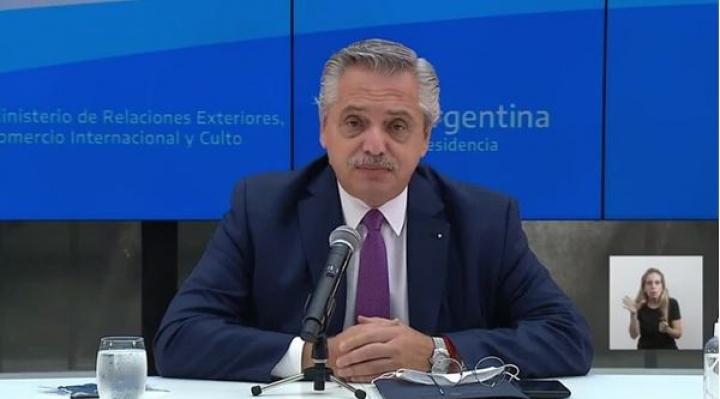 Alberto Fernández dio positivo de coronavirus, recibió en enero la vacuna Sputnik V