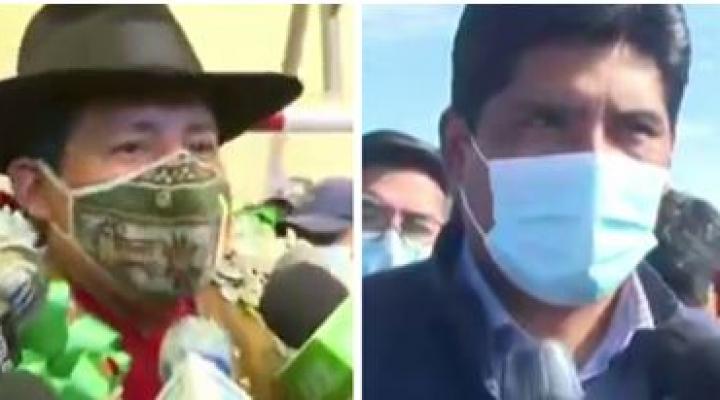 Santos y Flores ya emitieron su voto, esperan confiados los resultados