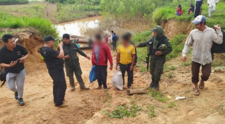 Aprehenden a dos acusados de quemar vivo a un indígena en municipio de San Borja
