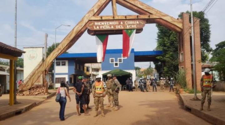 Gobierno suspende cierre de frontera en Cobija con Brasil y mantiene la medida en Beni y Santa Cruz