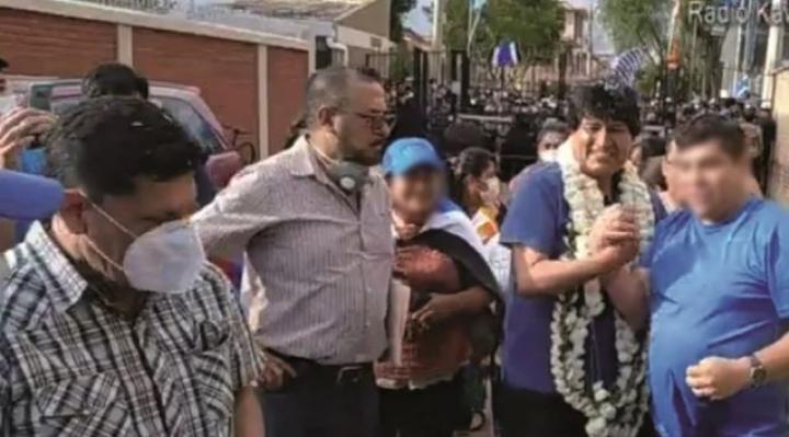 Inspector de la Policía escoltó a Evo Morales cuando regresó en noviembre de 2020