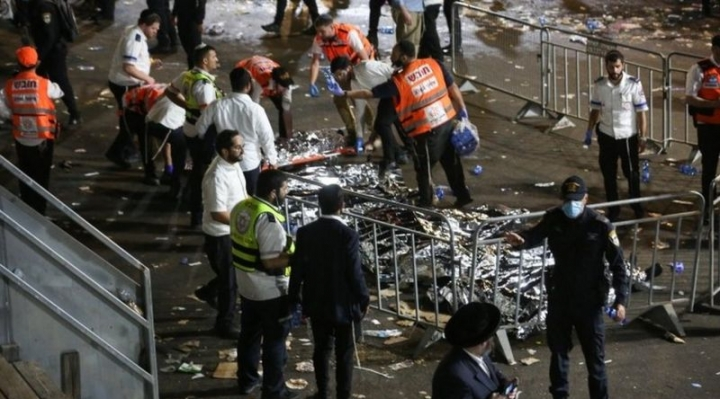 Estampida en Israel: al menos 44 muertos en el norte del país durante un festival religioso