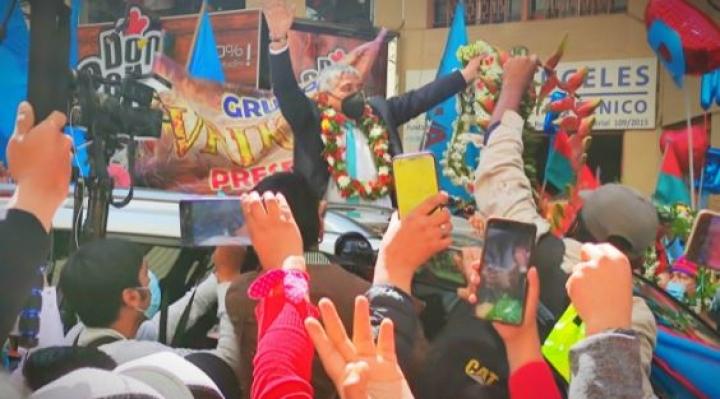 """Iván Arias, el nuevo alcalde de La Paz: """"Solo esperen de este negro trabajo"""""""