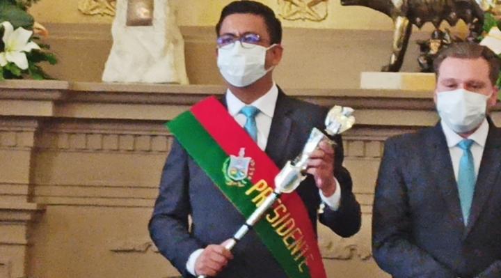 Jorge Dulón es el nuevo presidente del Concejo Municipal de La Paz